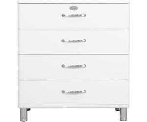 tenzo malibu kommode 4 schubladen 86 cm 5124 ab 188 99 preisvergleich bei. Black Bedroom Furniture Sets. Home Design Ideas
