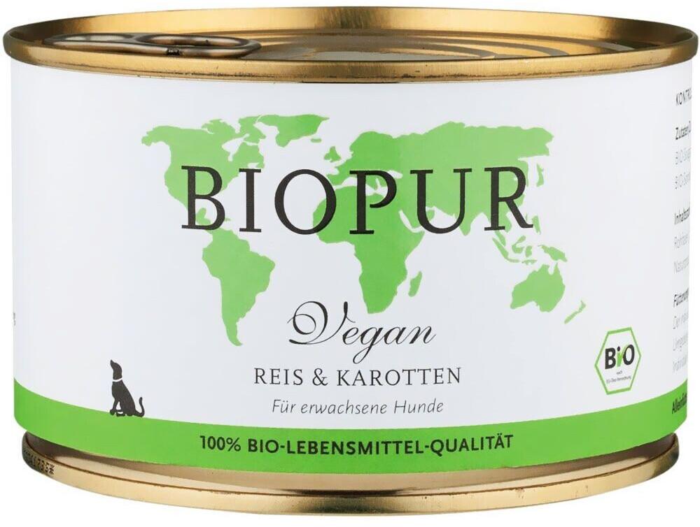 Biopur Senior Geflügel, Reis & Karotten (400 g)
