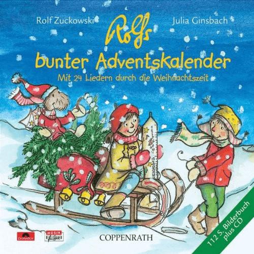 Coppenrath Rolf Zuckowski und seine Freunde - Rolfs Bunter Adventskalender