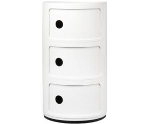 Kartell meuble de rangement componibili 3 compartiments au for Meuble kartell