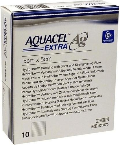 ConvaTec Aquacel Ag Extra 5 x 5 cm Verband (10 ...
