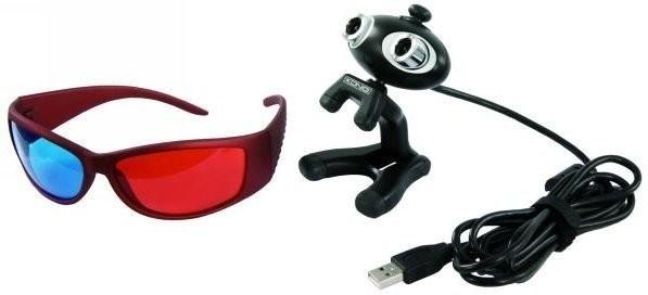 König 3D Webcam mit Brille
