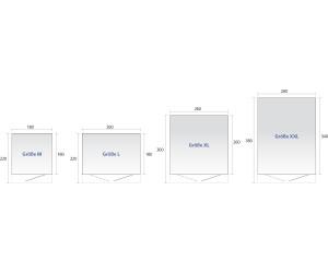 biohort avantgarde l et 260 x 220 cm silber ab preisvergleich bei. Black Bedroom Furniture Sets. Home Design Ideas