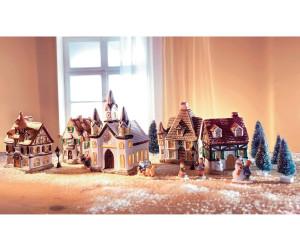 Weihnachtsdeko Bei Heine.Heine Porzellan Weihnachtsdorf 17 Tlg Ab 25 49 Preisvergleich
