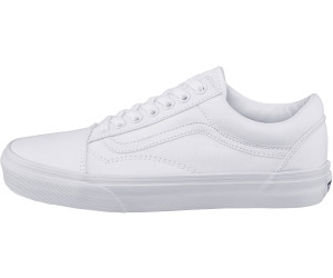 vans old skool leder weiß damen