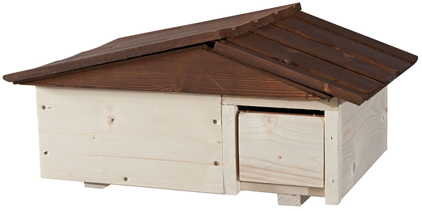 Blackdown Woodcrafts Igelhaus mit Kuschelhöhle