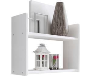 ticaa wandregal 60x45x20cm wei ab 28 82 preisvergleich bei. Black Bedroom Furniture Sets. Home Design Ideas