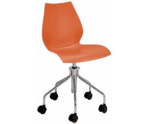 kartell maui drehstuhl orange ab 225 28 preisvergleich. Black Bedroom Furniture Sets. Home Design Ideas