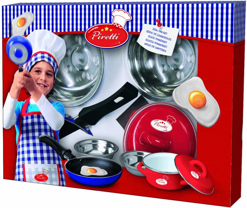SES Creative Piretti Echtes Kochset