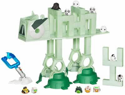 Hasbro Angry Birds Star Wars At-At Abschuss-Spiel