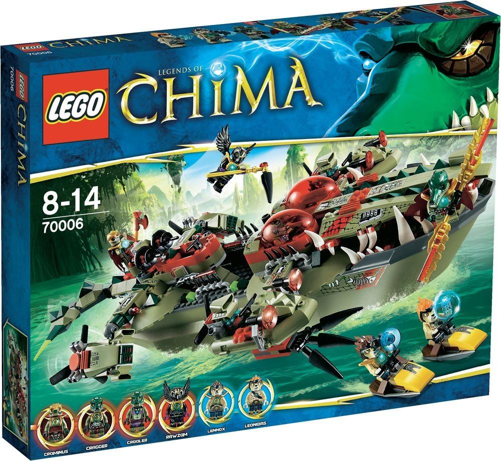 LEGO Chima - El buque cocodrilo de Cragger (70006)