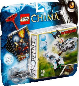 LEGO Legends of Chima - Speedorz Eisturm (70106)