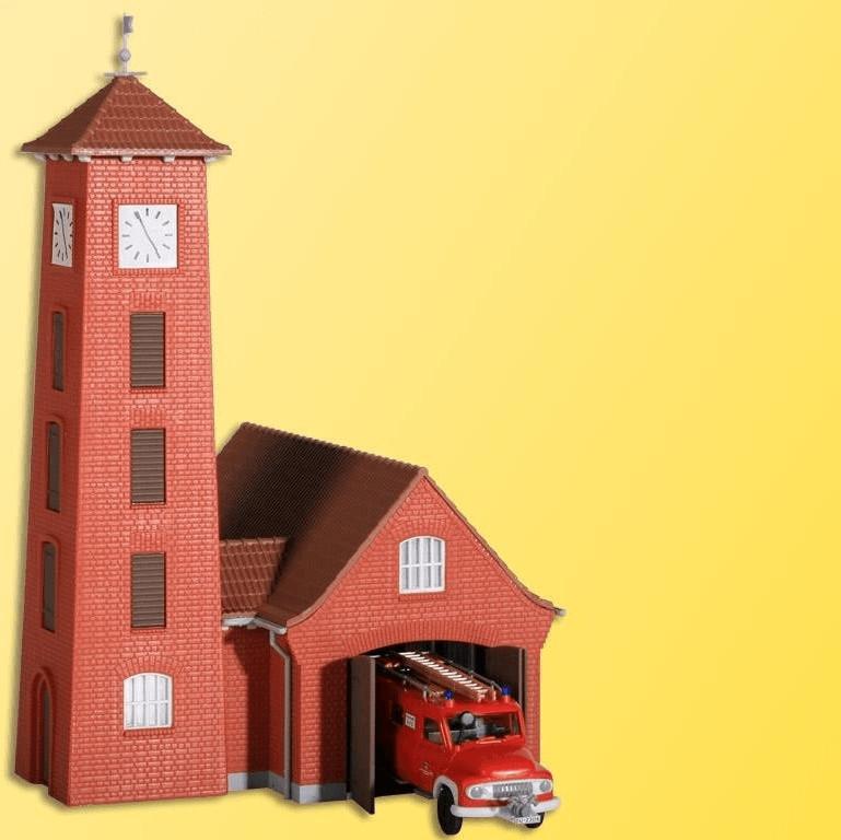 Kibri Feuerwehrhaus Bahlburg-Lüneburg (9210)