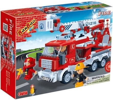 Banbao Coche de bomberos (8313)