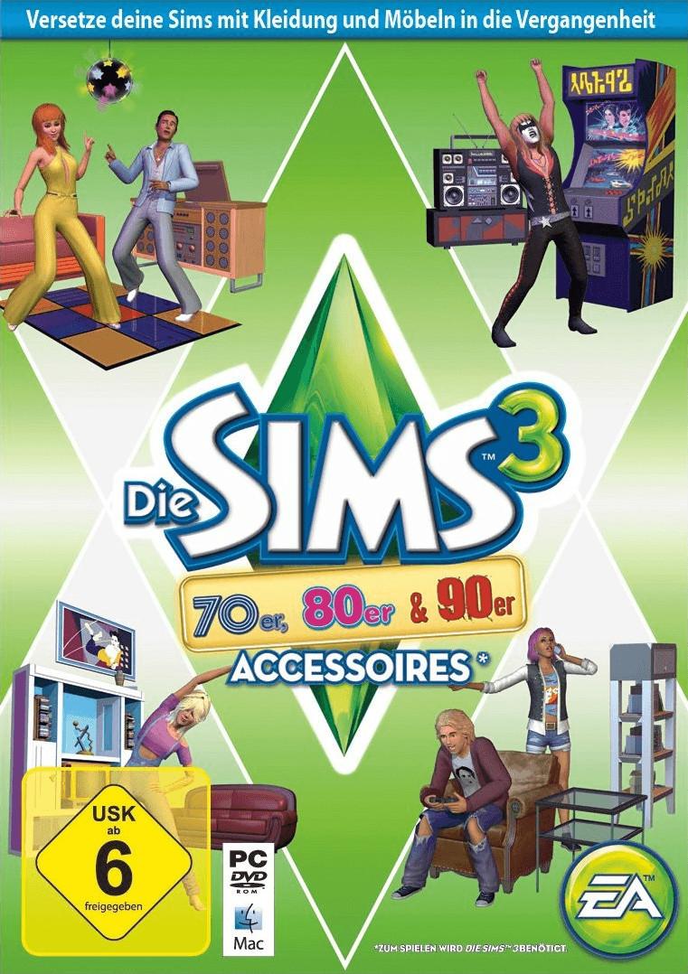 Die Sims 3: 70er, 80er & 90er Accessoires (Add-On) (PC/Mac)