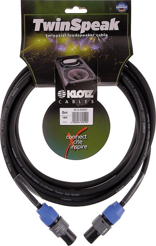 Klotz LY225T LS-Kabel 2 x 2,5mm² (10m)
