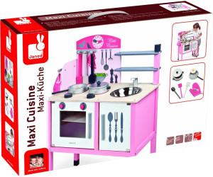 janod maxi cuisine mademoiselle j06533 au meilleur prix sur. Black Bedroom Furniture Sets. Home Design Ideas