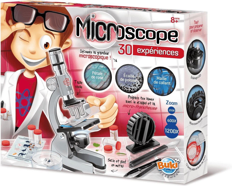 Buki 30 Experimente mit dem Mikroskop