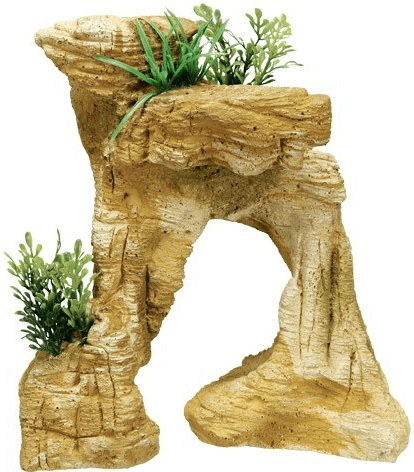 Nobby Aqua Ornaments Fels mit Pflanzen (22 x 13...