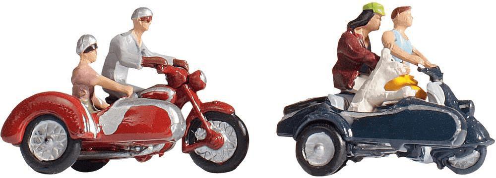 Noch Motorradfahrer mit Motorrädern (15905)