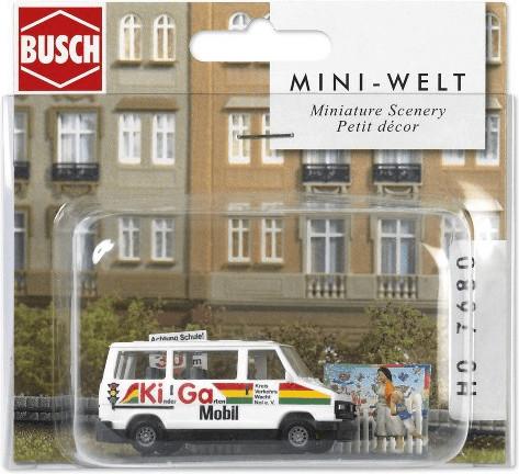 Busch Model Mini Welt: Kindergarten (7680)