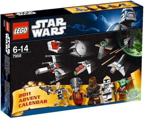 LEGO Calendrier de l'Avent Star Wars