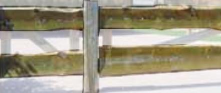 Joda Bonanza-Zaun Doppeltor 80 x 300 cm