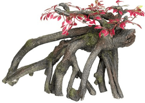Nobby Aqua Ornaments ´´Holz´´ mit Pflanzen (27 ...