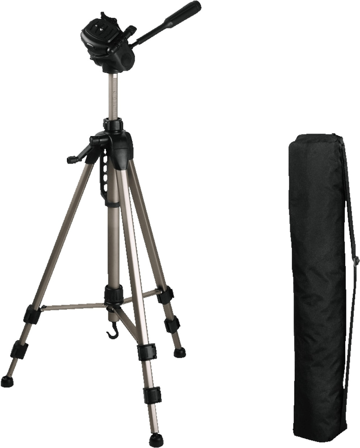 Hama Aluminium Camera Tripod Star 62 with Free Case, Brand New, 00004162