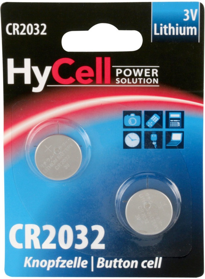 Image of HyCell 2x CR 2032 Lithium 3V