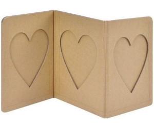sunnysue leporello bilderrahmen herz 3 x 10x15 ab 3 93 preisvergleich bei. Black Bedroom Furniture Sets. Home Design Ideas