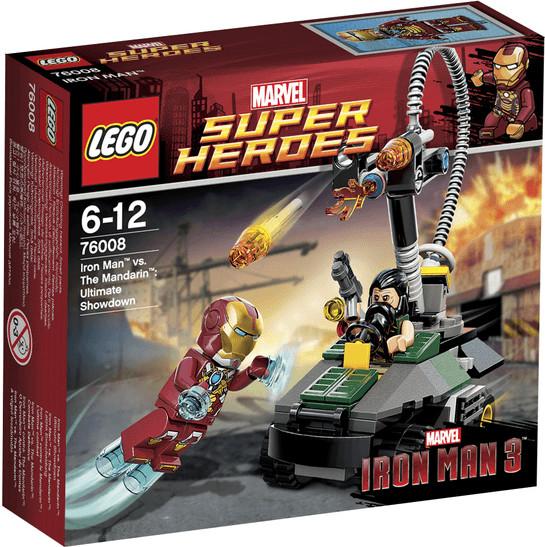 LEGO Marvel Super Heroes - Iron man contre le Mandarin: L'ultime combat (76008)