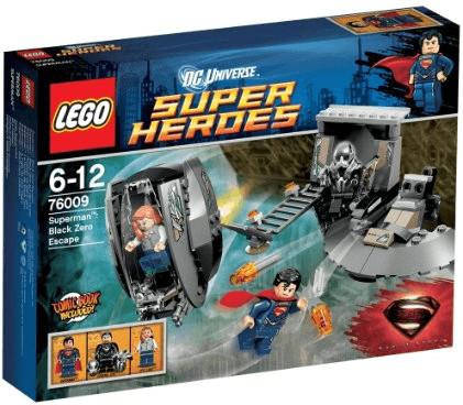 LEGO DC Comics Super Heroes - Superman : L'évasion de Black Zero (76009)