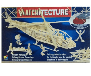 Bojeux Matchitecture - Rescue Helicopter