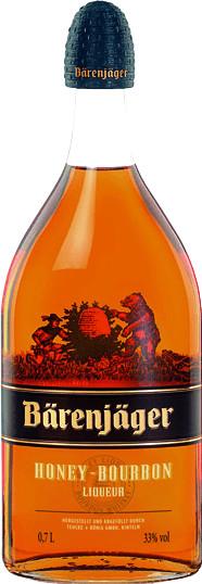 Bärenjäger Honey-Bourbon 0,7l 33%