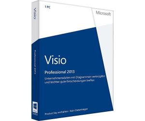 Deutsche Vollversion Pkc Mit Mwst-rechnung 2019 Official Microsoft Visio Standard 2013 Computers/tablets & Networking
