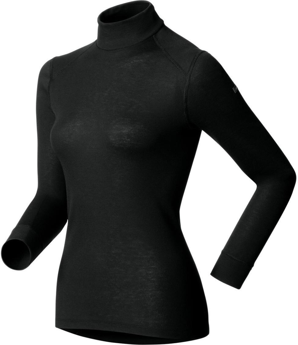 Odlo Tee Shirt Warm ML Col Droit Femme