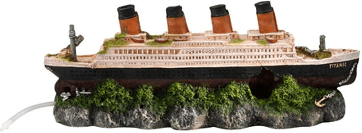 EBI Bubble-Decor Schiffswrack Titanic (39 x 11 ...