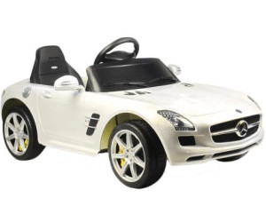 Meilleur Voiture Electrique >> Jamara Voiture Electrique Enfant Mercedes Benz Sls Amg Blanc Au