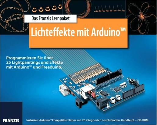 Franzis Lernpaket Lichteffekte mit Arduino