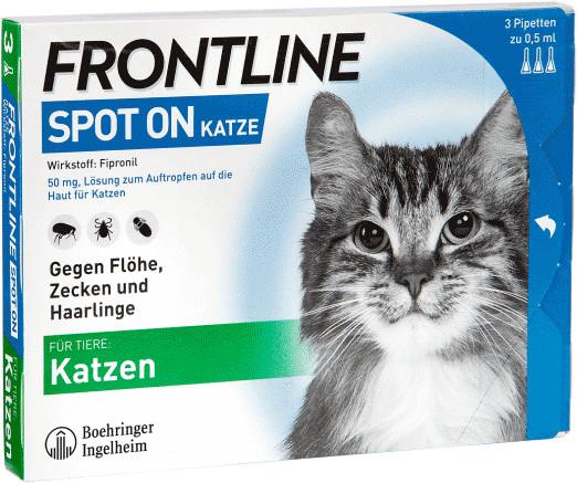 Frontline Spot On Katze 3 Stück
