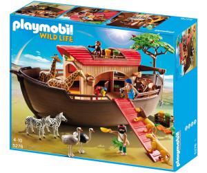 Playmobil arche de no avec animaux de la savane 5276 au meilleur prix sur - Playmobile savane ...