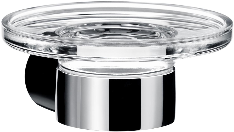 emco Fino Seifenhalter mit Kristallschale (84300)