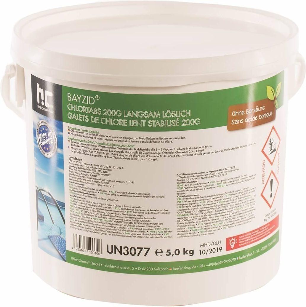 Höfer Chemie Chlortabs 5 kg (200 g Tabs)