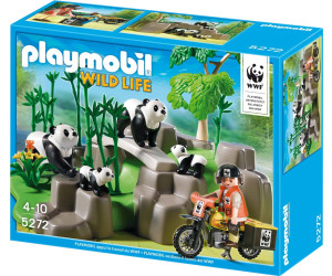 Playmobil Wild Life - WWF Pandas in Bamboo Forest