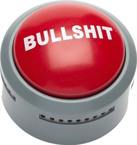 Image of Funtime Bullshit Button