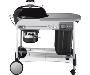 Weber Grill Holzkohlegrill Performer Deluxe Gbs Gourmet : Weber performer deluxe gbs gourmet cm sear grate rost ab