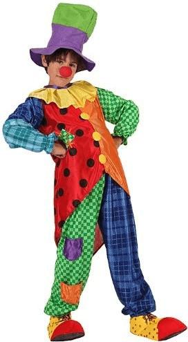Atosa Verkleidung Clown