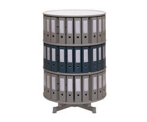 reef aufbau etage f r ordner drehs ule grau 100 cm ab 58 01 preisvergleich bei. Black Bedroom Furniture Sets. Home Design Ideas