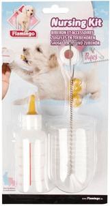 Flamingo Aufzuchtflasche Puppy